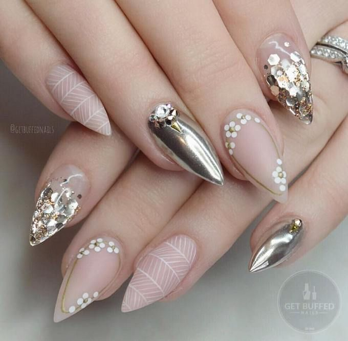 Fabulous Mirror Nail Designs That Will Glam Up Your Nails                                                                                                                                                                                 More