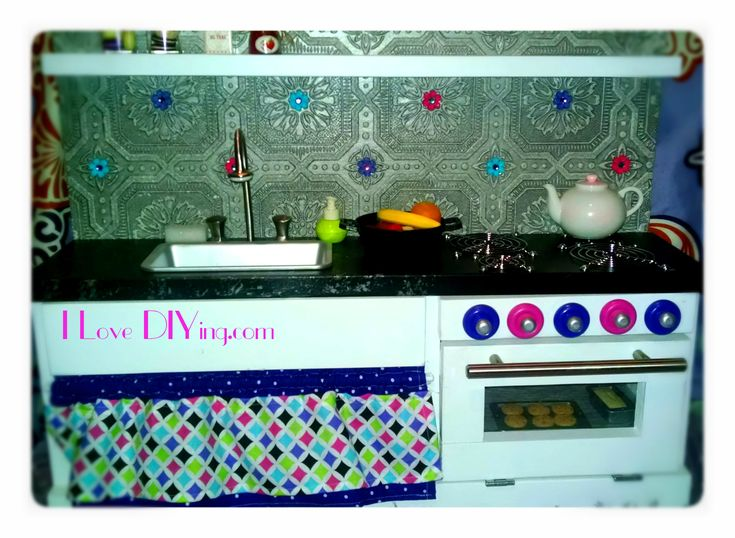 American Girl Doll sized Kitchen   Do It Yourself Home Projects from Ana White