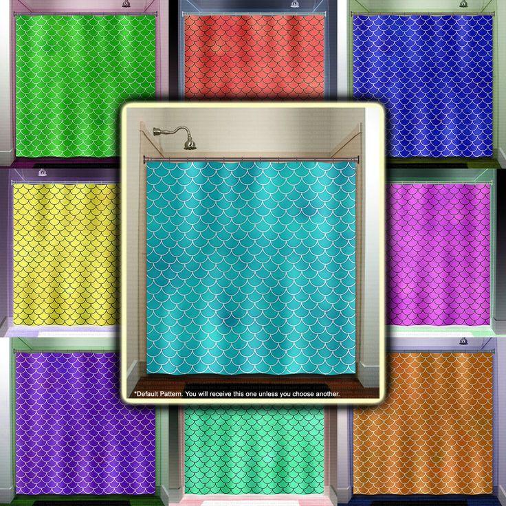 669 Best Images About Unique Shower Curtains On Pinterest