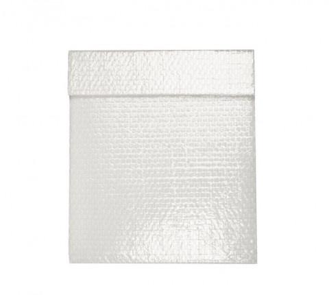 Envelope Bolha Branco Com Filme Amil → Envelope em plástico bolha branco com filme dupla camada para personalização. Embalagem produzida em plástico bolha 120 gramas. Envelope bolha destinado a press kit.    Cliente: Amil.