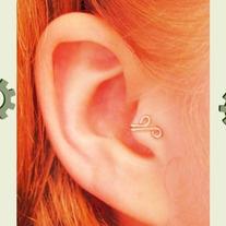 Tragus ear cuff
