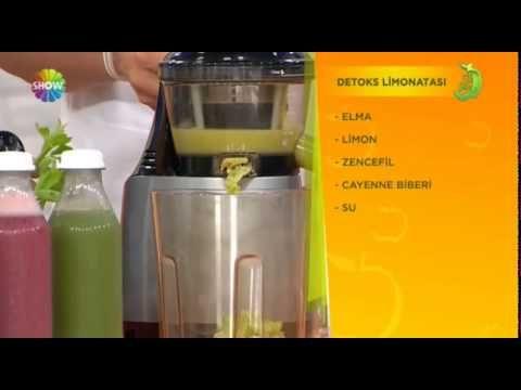 Detoks Limonatası - Gül Kaynak - YouTube