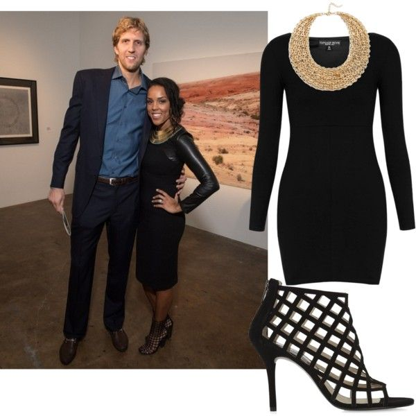 Jessica Nowitzki is iconic for her style in the DFW metroplex. Here's an outfit inspired by what she wore to a gallery event with NBA All-star husband, Dirk Nowitzki.