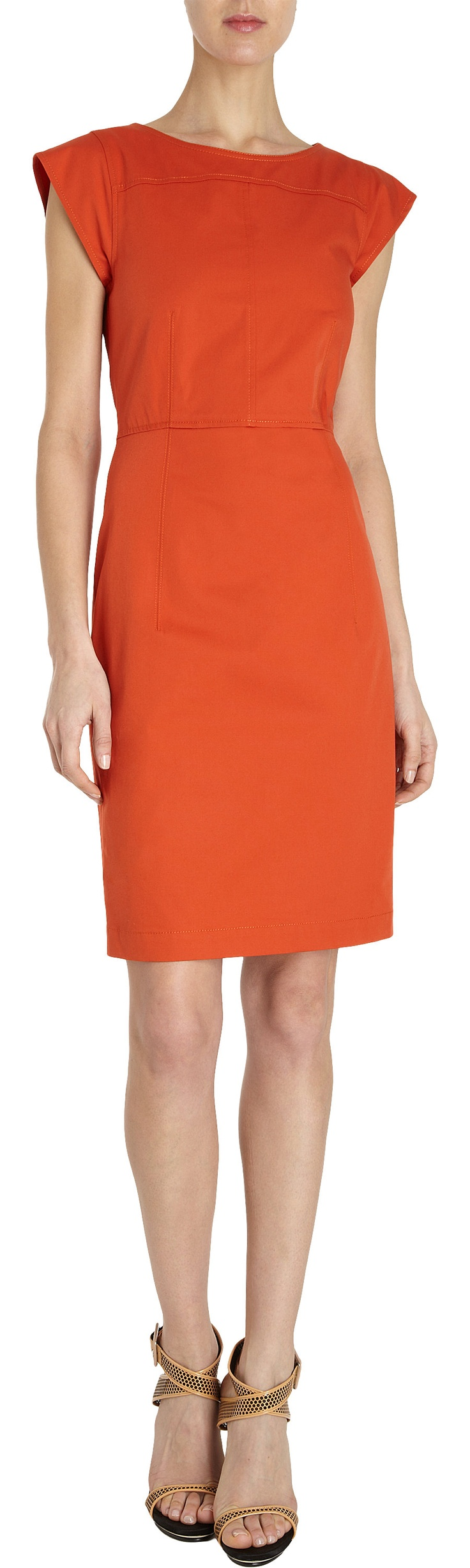 Derek Lam Cap Sleeve Sheath Dress at Barneys.com