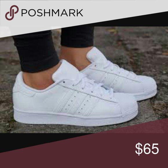 adidas superstar all white sale
