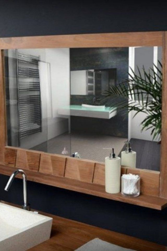 Bathroom Mirror With Shelf Attached Exceptional Bathroom Mi Bathroom Mirror With Shelf Bathroom Mirror Mirror With Shelf