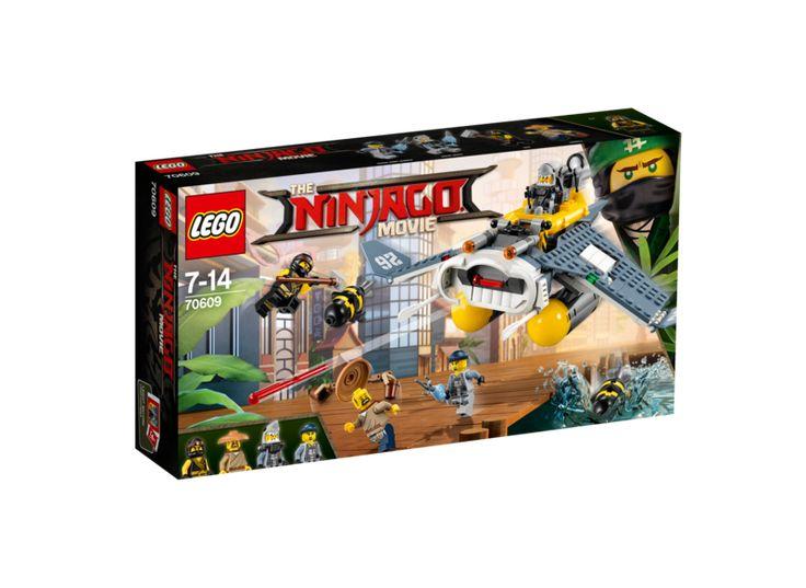 Lego ninjago 70609 rokkebomber