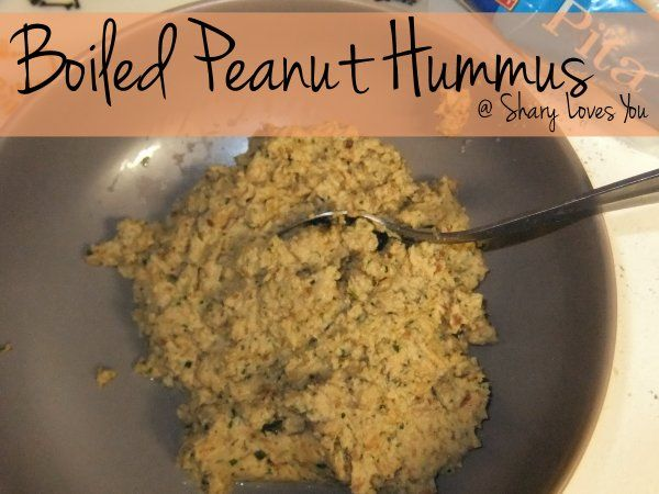 Boiled Peanut Hummus | Delicious Dinner and Appetizers Too! | Pintere ...
