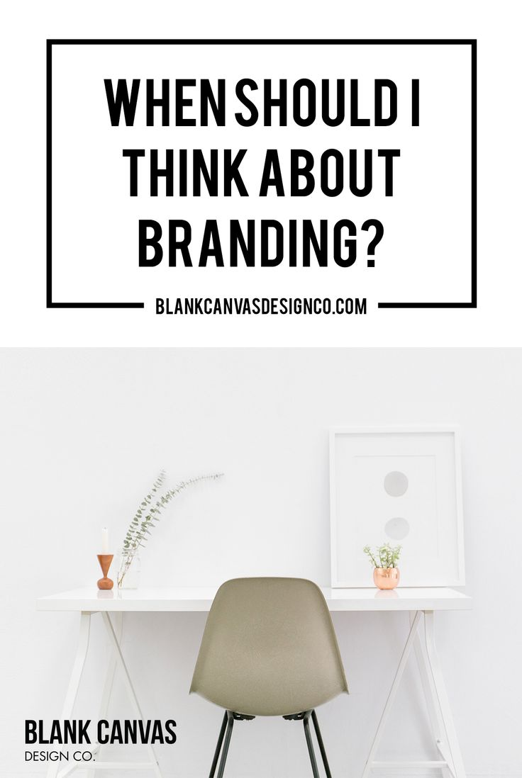 Is branding an afterthought or your first thought? We talk about when a small business should think about their brand strategy and why. Learn our brand formula!