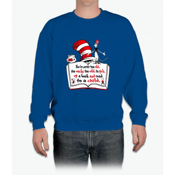 READ ACROSS AMERICA DAY !!! Crewneck Sweatshirt