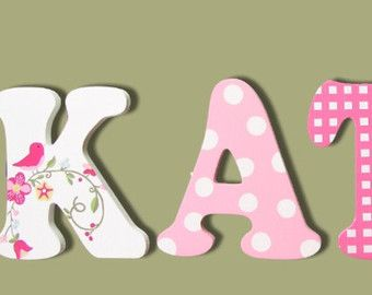 baby name wall letters on Etsy, a global handmade and vintage marketplace.