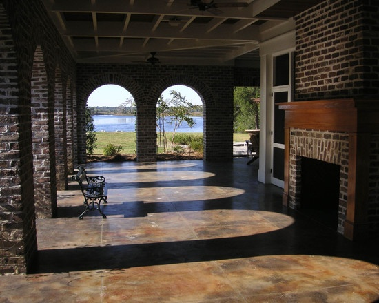Best 25 Stained Concrete Porch Ideas On Pinterest Stain