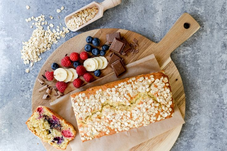 Havrebrød er kjapt å lage, du kan fylle det med frukt og sjokolade eller annet godt. Elte- og hevefritt! Trinn-for-trinn-oppskrift på havrebrød.