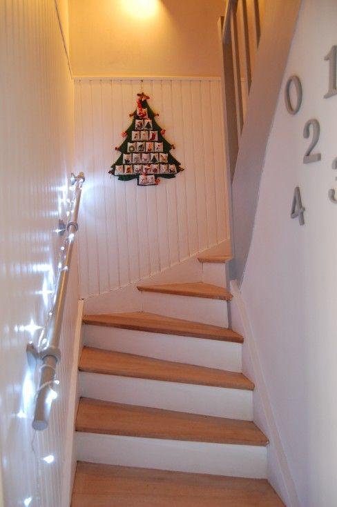 18 best Blanc images on Pinterest White people, Bathroom and Lounges - entree de maison avec escalier