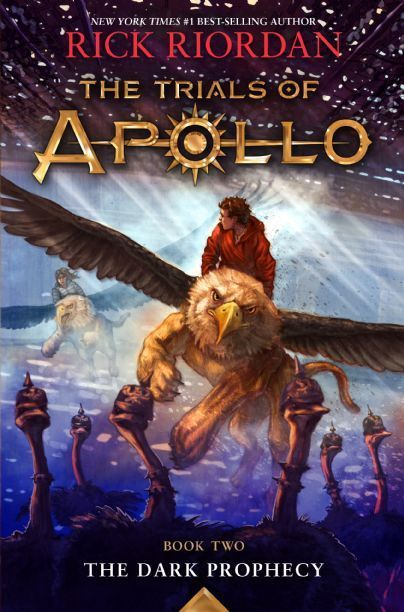 (Disney Books) Zeus has punished his son Apollo–god of the sun, music, archery, poetry, and more–by casting him down to earth in the form of a gawky, acne-covered sixteen-year-old mortal named Lester. The only way Apollo can reclaim his rightful place on Mount Olympus is by restoring several Oracles that have gone dark. What is affecting the Oracles, and how can Apollo/Lester do anything about them without his powers? THE DARK PROPHECY