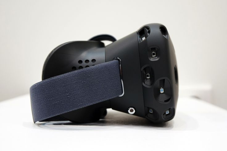 This is Valve's VR headset, the HTC Vive | The Verge