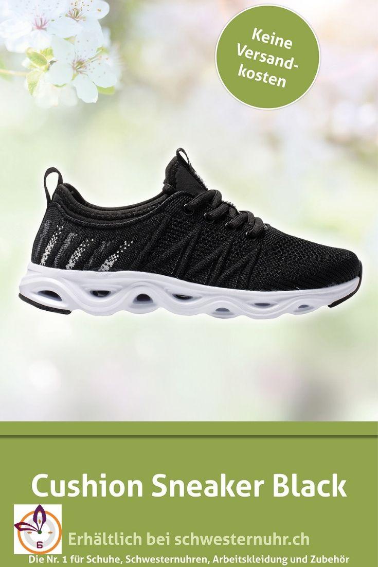 Cushion Chaussures 2019SneakerSkechers Sneaker Black In Yyfvb6g7