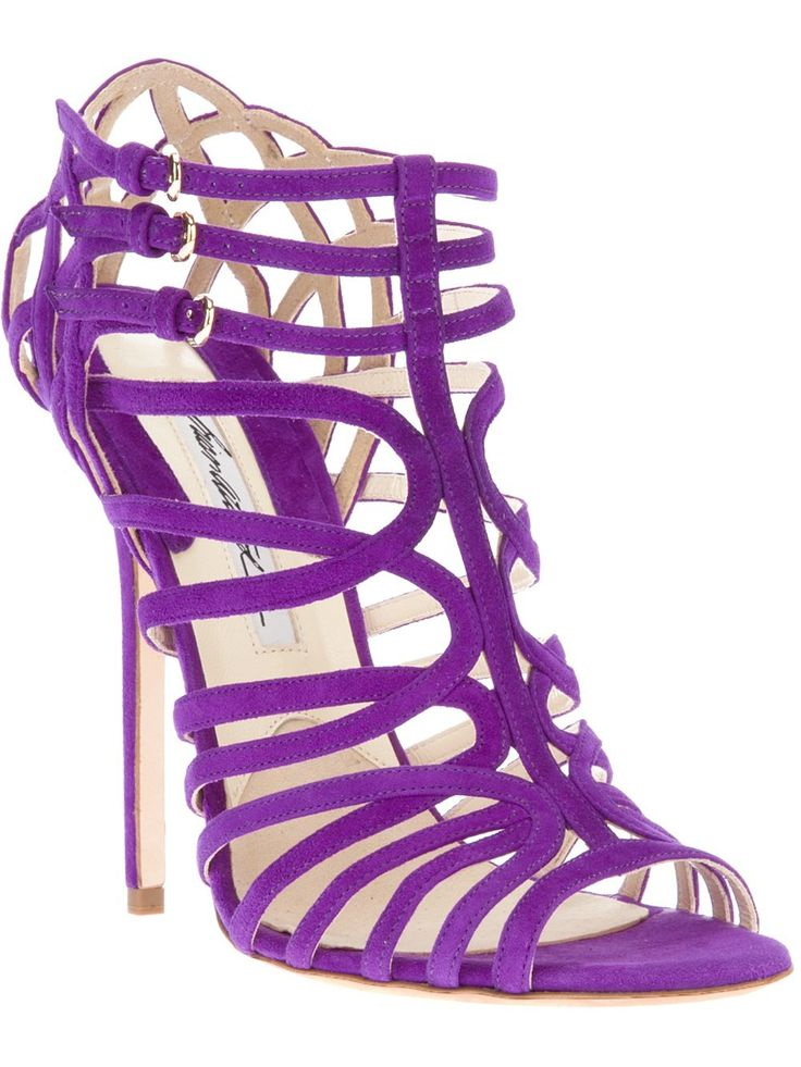 1000  ideas about Purple Sandals on Pinterest  Black pumps shoes