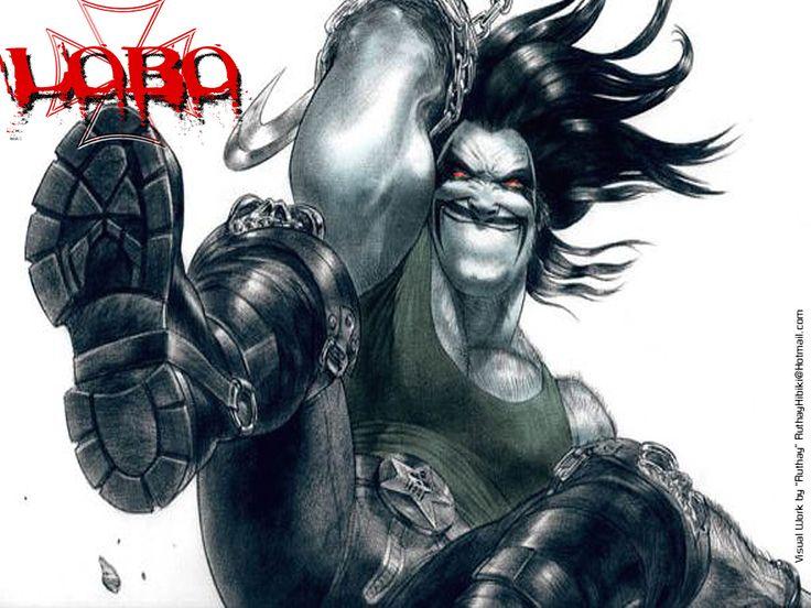 DC Comics Lobo  / 1024x768 Wallpaper