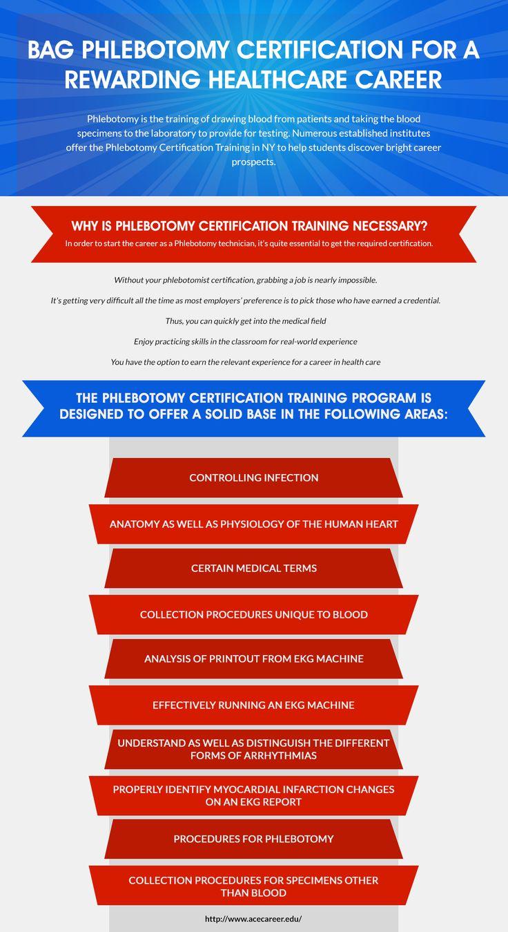 13 best medical assistant training images on pinterest medical bag phlebotomy certification for a rewarding healthcare career xflitez Choice Image