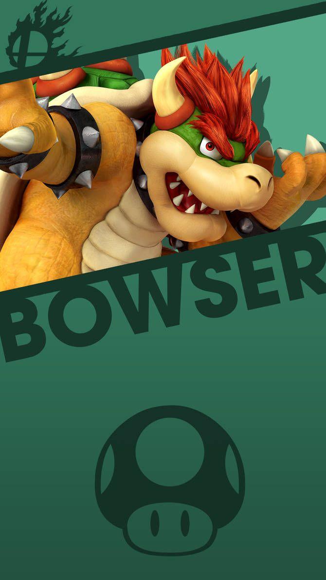 Bowser Smash Bros Phone Wallpaper By Mrthatkidalex24 Mario E