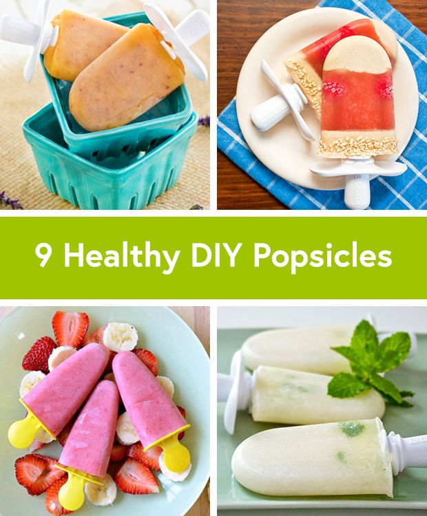 9 Healthier Summer Popsicle Recipes