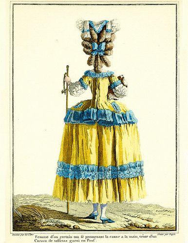 18th Century Fashion Plate inspiration