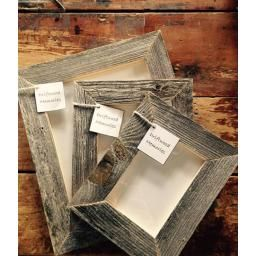 4 x 6 Driftwood Frame- Don't forget what your friends and family look like! Made in Nova Scotia from found driftwood.