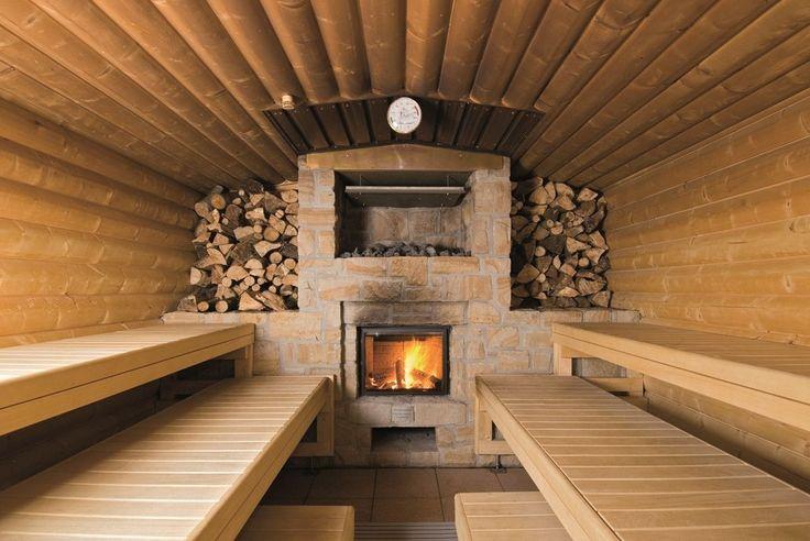 Печи для бани на дровах с баком: 60+ максимально функциональных и продуманных реализаций http://happymodern.ru/pechi-dlya-bani-na-drovax-s-bakom/ Баня с дровяной печью обложенной камнем