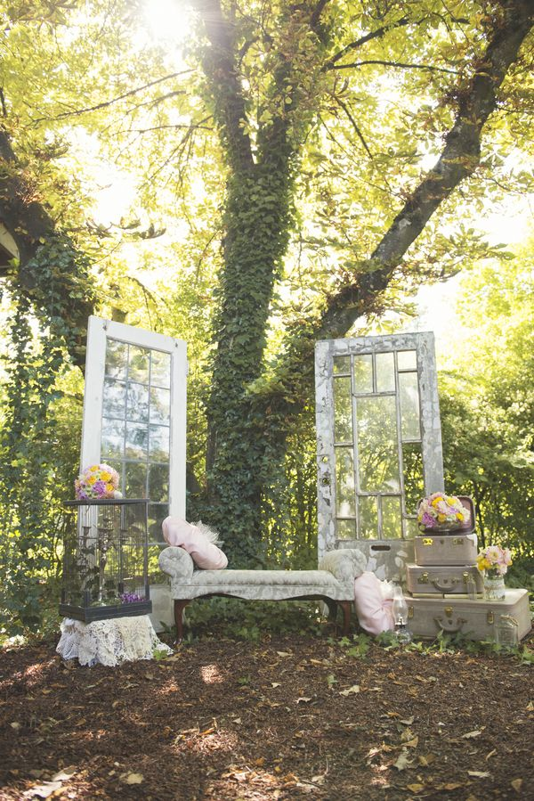 Rustic Garden Wedding Inspiration Shoot - MODwedding photo: L'Estelle Photography