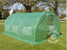 Polytunnel Greenhouse 3x4,5x2 m