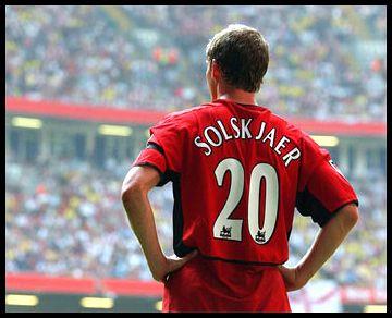 Ole Gunnar Solskjaer - Manchester United striker - 1996 - 2007