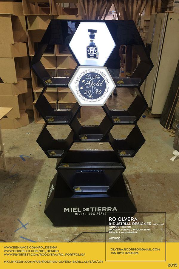MIEL DE TIERRA MEZCAL DISPLAY #MIEL DE TIERRA #MEZCAL #MEZCALDISPLAY…