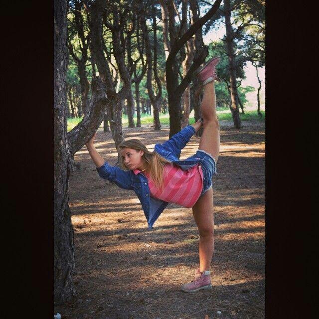 Dancer, split, inspiration.