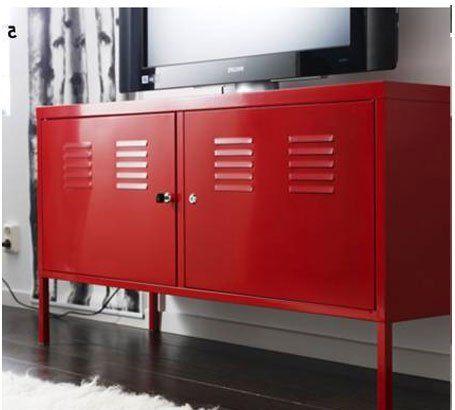 Ikea Red Cabinet Tv Stand Multi Use Lockable Ikea,http://www.amazon.com/dp/B006KXVPAA/refu003dcm_sw_r_pi_dp_MtoNsb10QZQB905C  | Alec Bedroom | Pinterest | Tv ...