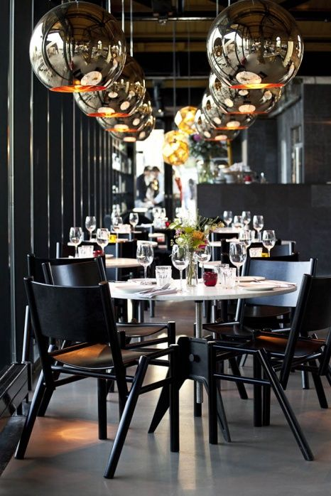 LONDON - The restaurant Dock Kitchen, the pop-up restaurant created by rising star Stevie Parle