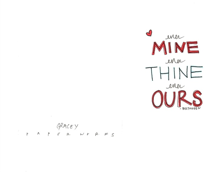 ever mine ever thine ever ours words quotes thoughts