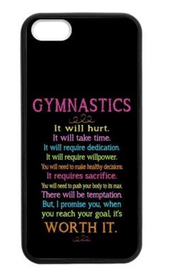 Motivating #Gymnastics Cell Phone Case. Love this to keep you working towards your goals!