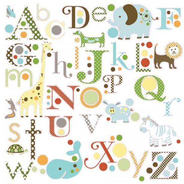 Dotty Hippo - Animals and Alphabet Wall Stickers - Roommates, £12.50 (http://dottyhippo.co.uk/animals-and-alphabet-wall-stickers-roommates/?gclid=CjwKEAjwwbyxBRCS74T049iEp0wSJACkO5v1THMlYK1uRSZDIyVS8w086jzelL1ktPwpg-R27fCZTRoCDyrw_wcB/)