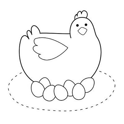 Chick with eggs                                                                                                                                                                                 Mais