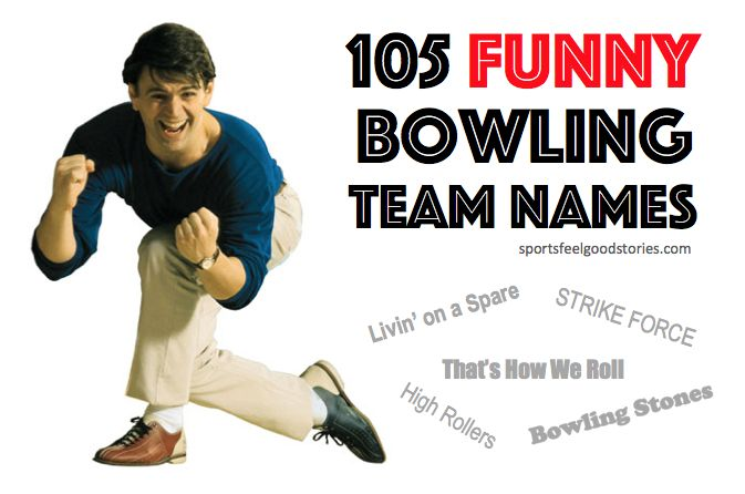 You and your teammates can jell when you choose from our funny bowling team names. Elevate your scores with the confidence that comes from a cool name.