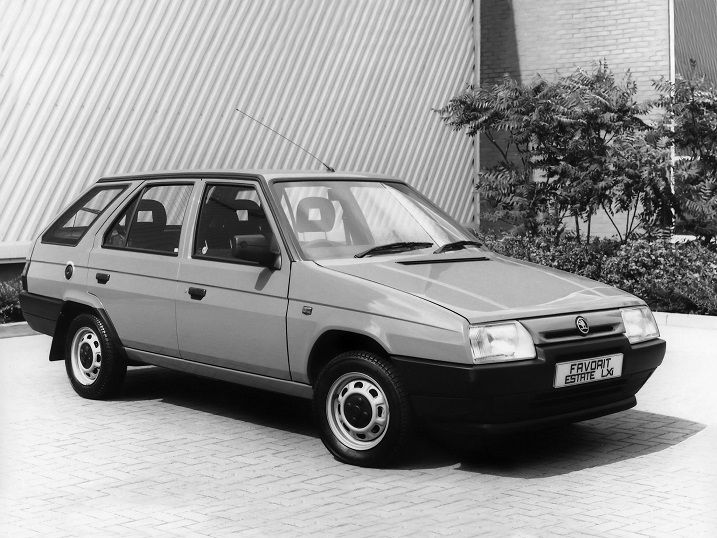 Skoda Favorit Estate (1991 – 1995).