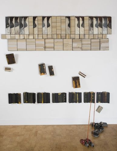 Artist Member: Brooke Holve has a deep connection with books - as symbols, objects and vessels of knowledge. Her work examines the changing role of the book, highlighting their persistence in our physical world. She uses book remnants themselves along with a multitude of mixed media and techniques including collage, printmaking, photography and digital media to create sculptures, installations, reliefs and artist's books.