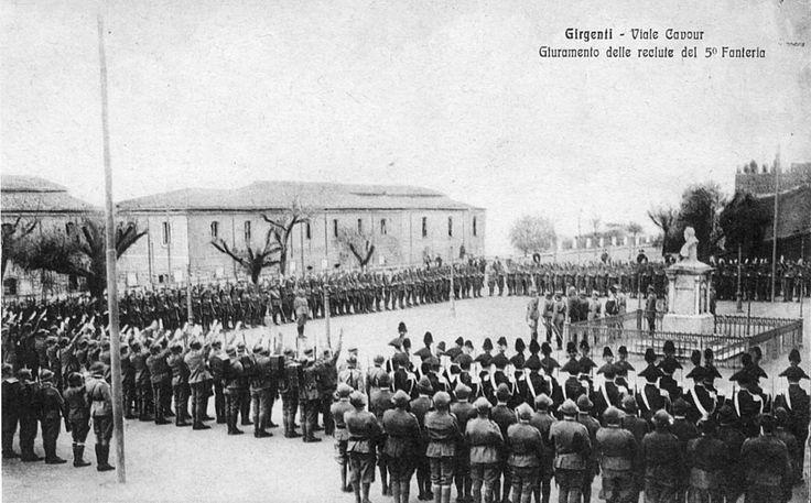 AGRIGENTO Caserme e soldati. Fotogalleria