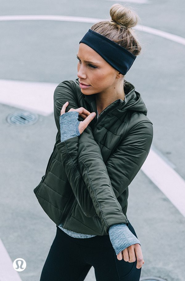 Yoga Clothes : Push back on the winter cold this season with technical outwear b… – Workout clothes   Womens workout outfits, Gym clothes women, Athleisure outfits