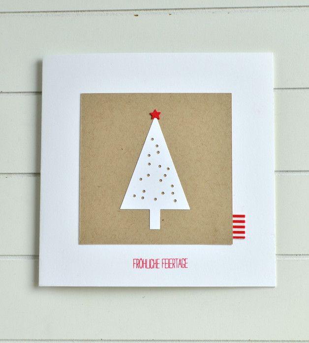 Weihnachtskarten - 4.741 einzigartige Produkte bei DaWanda online kaufen