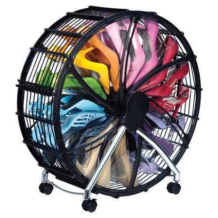 Heidel Shoe Wheel in Black, Rakku  at Joss and Main