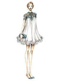 Vestido de novia y Show_ sonríen Viola Viola Álbum de archivo - Montón de azúcar
