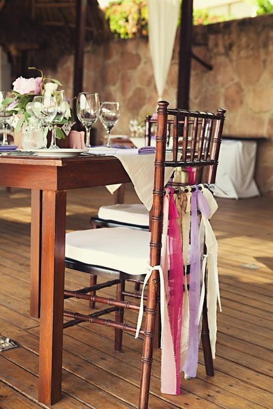 Crafty Wedding Chairs - wave avenue