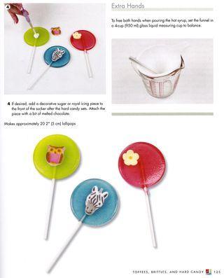 Lollipop Food Ideas